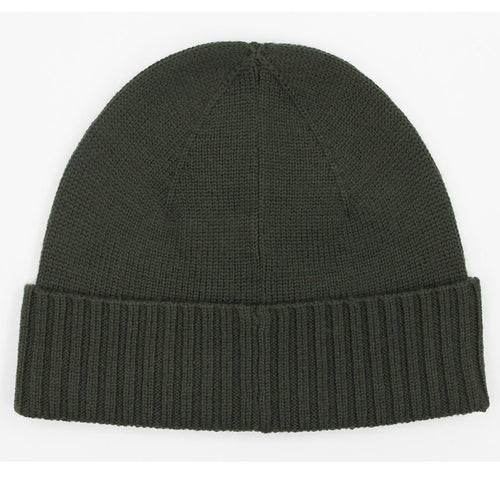 Polo Ralph Lauren - Merino Wool Beanie Hat in Khaki Green - Nigel Clare