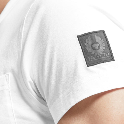 Belstaff - Thom 2.0 T-Shirt in White - Nigel Clare