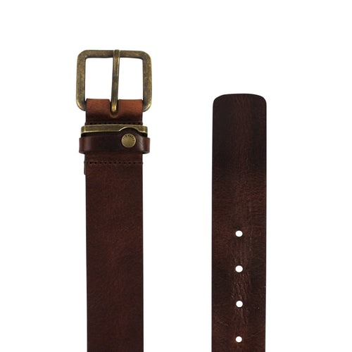 Ted Baker - Katchup Leather Belt in Tan - Nigel Clare