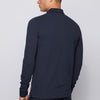 BOSS Orange - Passerby L/S Slim Fit Polo Shirt in Navy - Nigel Clare