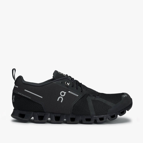 On Running - Cloud Waterproof Trainers in Black/Lunar