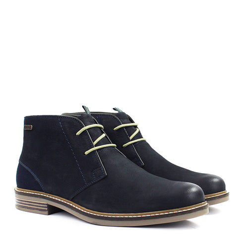 Barbour - Readhead Chukka Boots in Navy - Nigel Clare