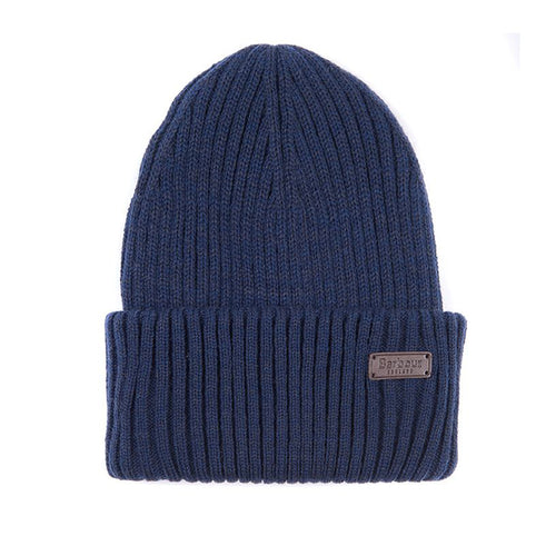 Barbour - Crimdon Beanie and Scarf Gift Set in Navy - Nigel Clare