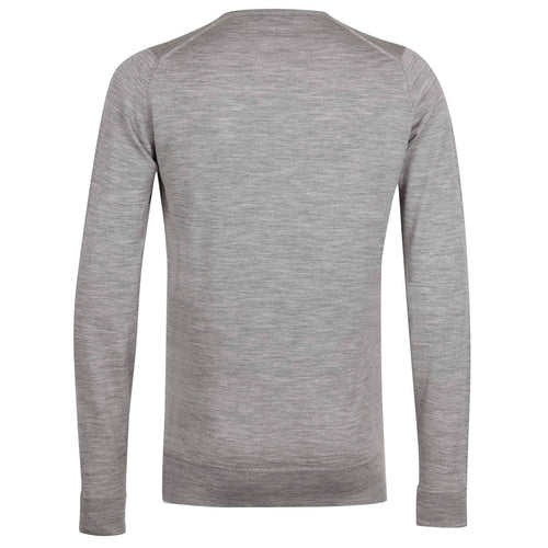 John Smedley - Marcus Crew Neck in Silver