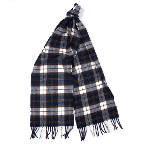 Barbour - Robinson Tartan Scarf in Navy - Nigel Clare
