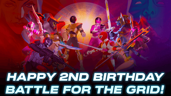 Power Rangers: Battle for the Grid Turns 2!