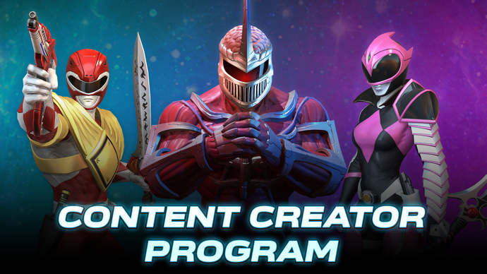 Introducing the Power Rangers: Battle for the Grid Content Creator Program