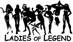 Ladies of Legend merchandise