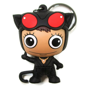 Catwoman 3D Figural Keychain - Black Outfit