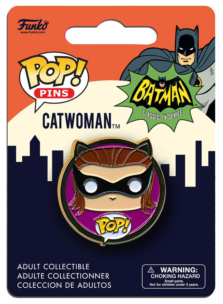 Catwoman Pop Pin