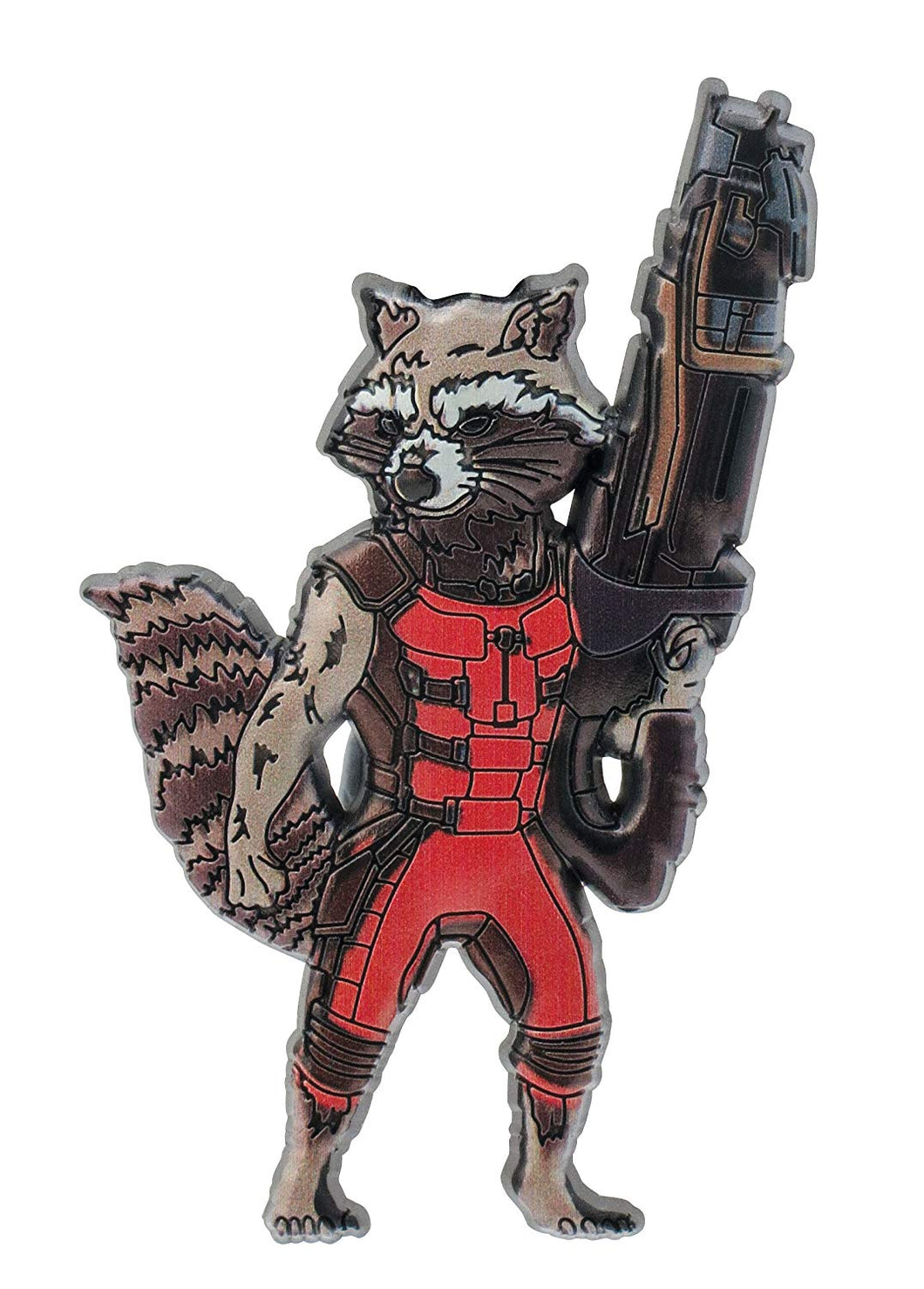 Rocket Raccoon Magnet