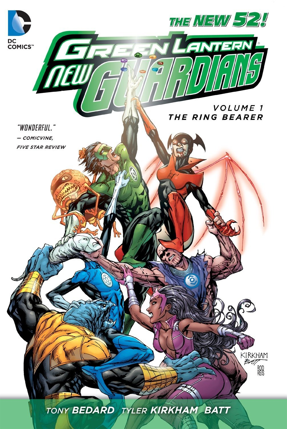 Green Lantern: New Guardians Vol. 1: The Ring Bearer
