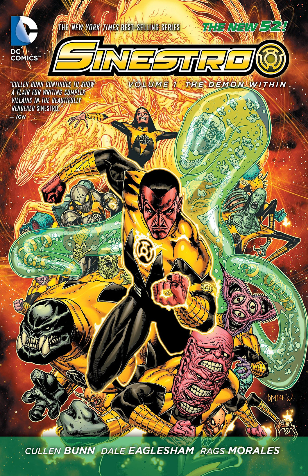 Sinestro: The Demon Within
