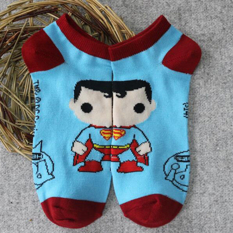 Superman Ankle Socks