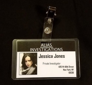 Jessica Jones ID Badge