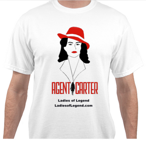 Peggy Carter White T-Shirt