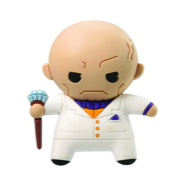 Kingpin 3D Figural Keychain - White suit