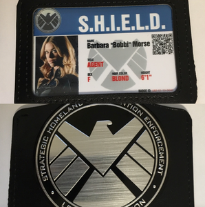 Mockingbird Shield Badge