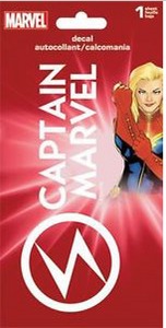 Captain Marvel Decal