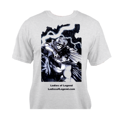 Carrie Kelley Grey T-Shirt