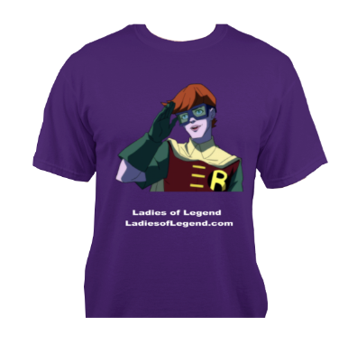 Carrie Kelley Purple T-Shirt