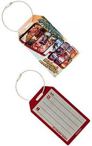 Deadpool Luggage Tag