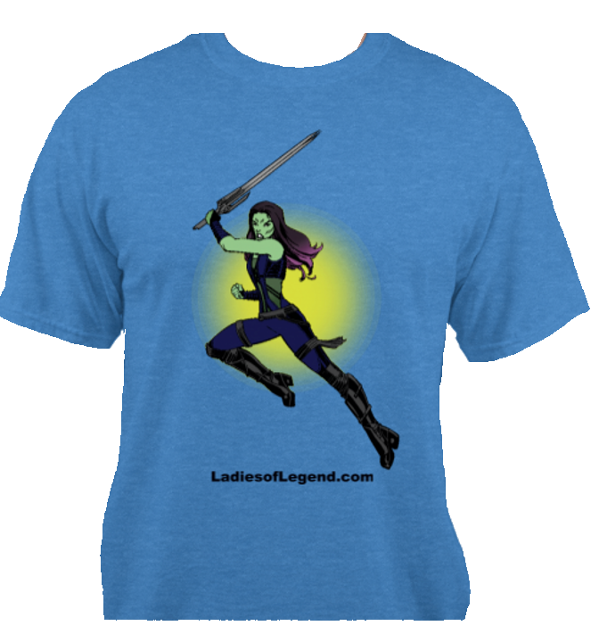 Gamora Blue T-Shirt