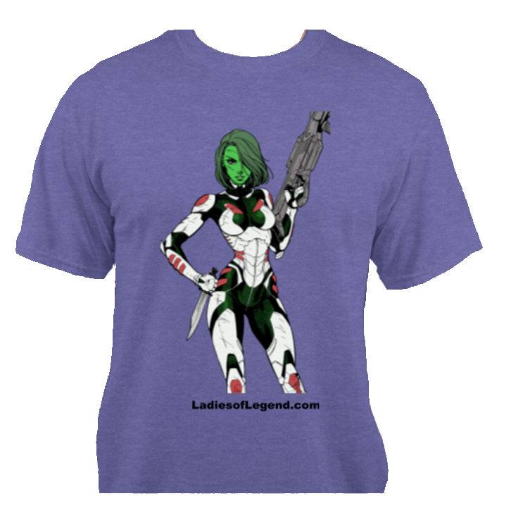 Gamora Purple T-Shirt