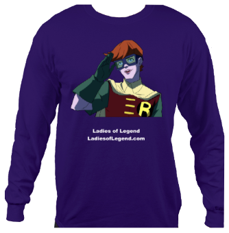 Carrie Kelley Purple Longsleeve T-Shirt