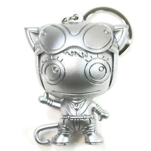 Catwoman 3D Figural Keychain - Silver