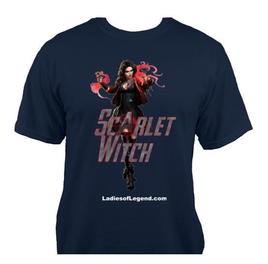 Scarlet Witch Navy T-Shirt