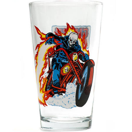 Ghost Rider pint glass