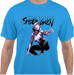 Spider Gwen Blue T-Shirt