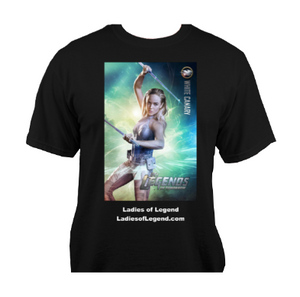 White Canary Black T-Shirt