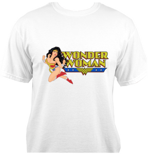 Wonder Woman White T-Shirt