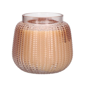 Sweet Grace Woven Pattern Candle