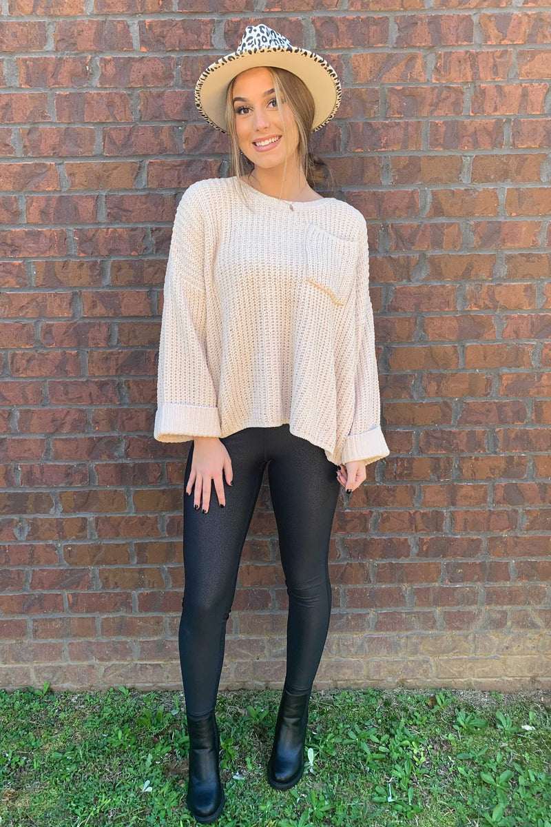 Sandy Knit Sweater