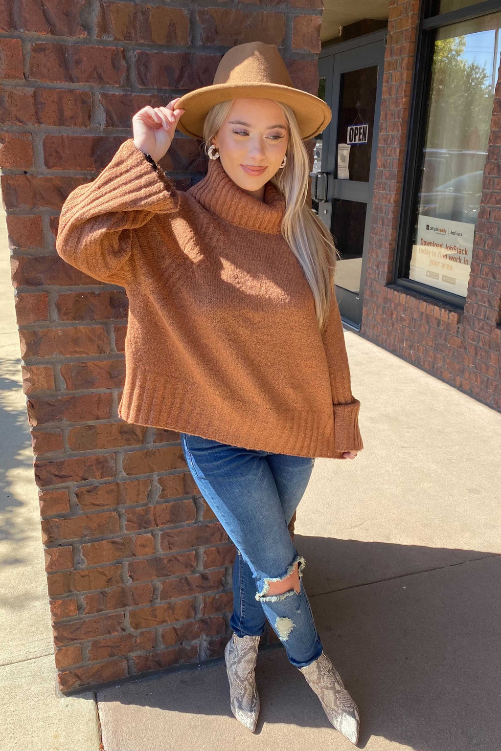 Autumn Air Sweater