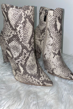 Stone Snake Booties