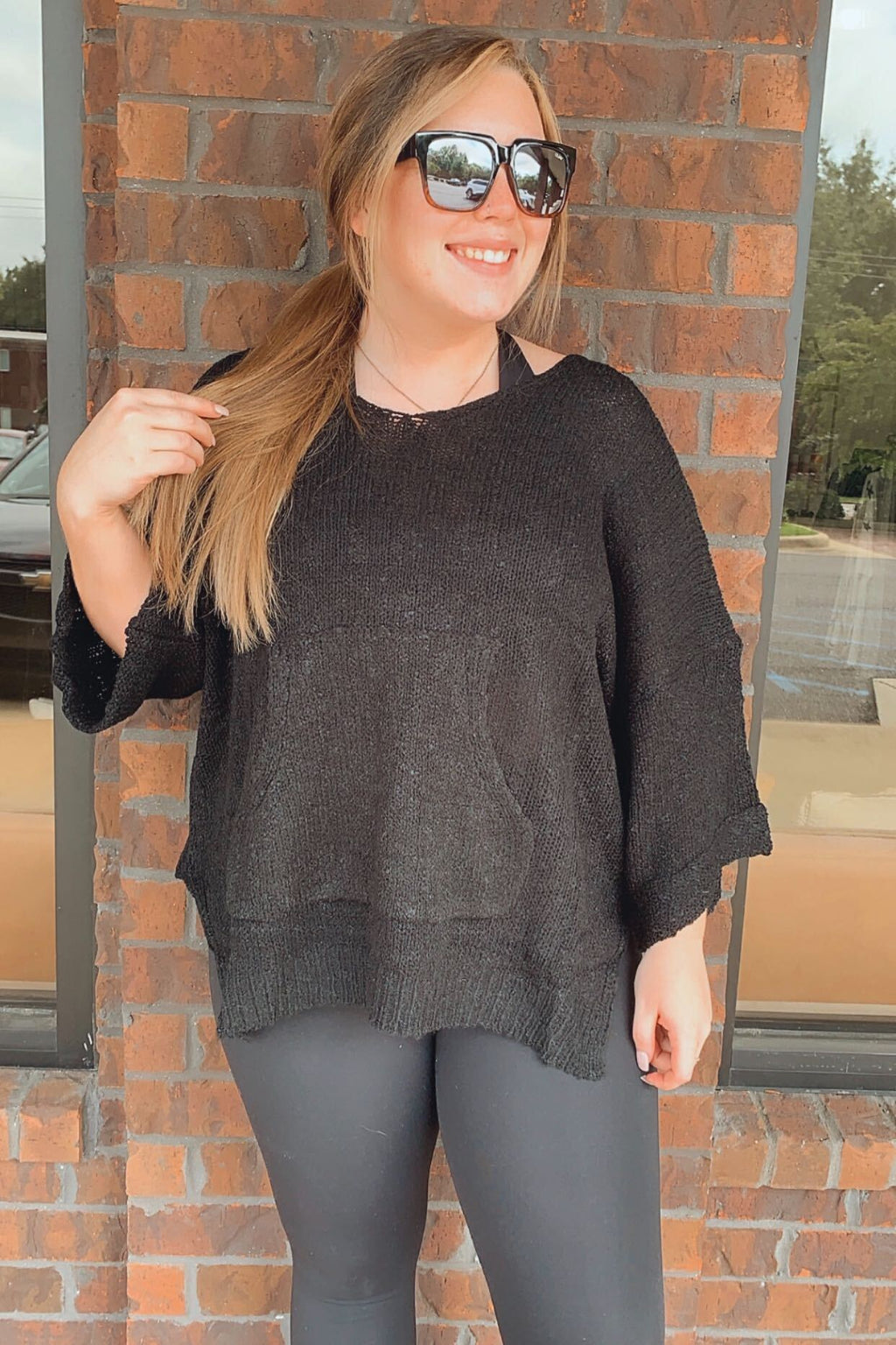 Little Black Pullover