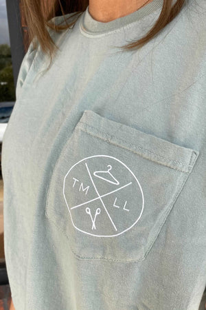 TMLL Comfort Color Pocket Tees