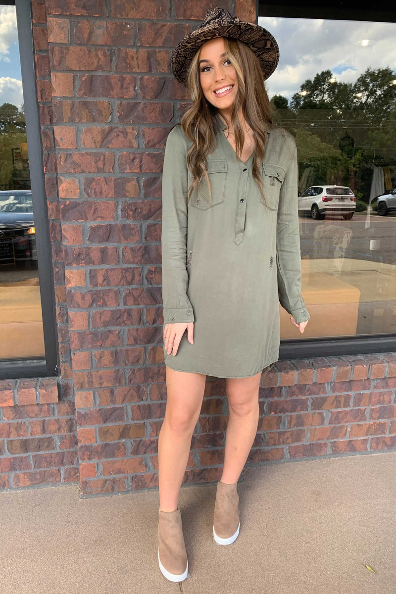 Boyfriend T-Shirt Dress
