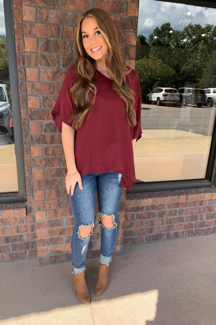 Oversized Pocket Top