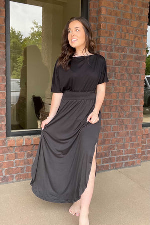Kiersten Maxi Skirt - Black