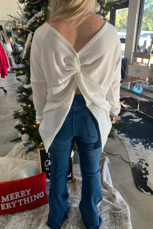 Dreaming of a White Christmas Top