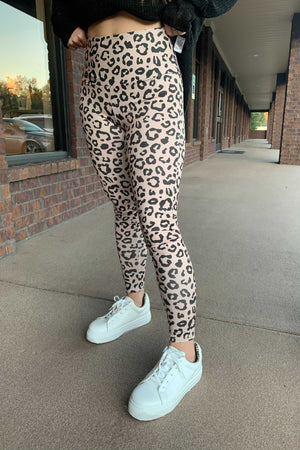 Wild Leo Leggings