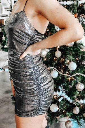 Metallic Moves Dress
