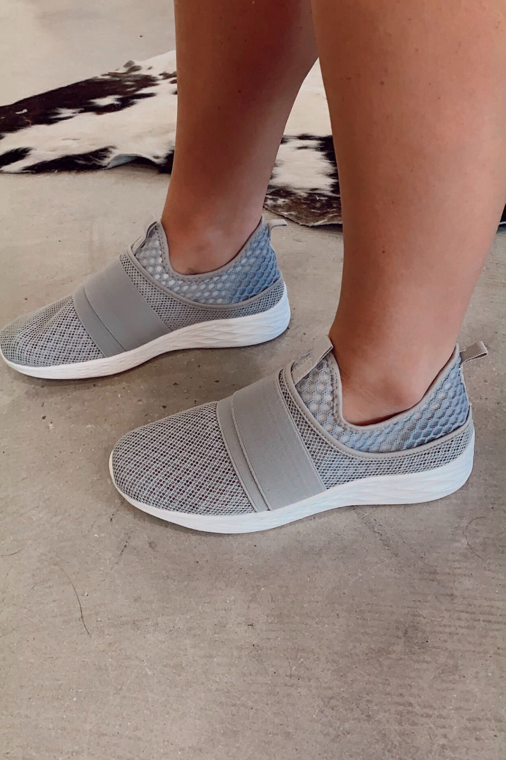 Basic Crossover Slip On Sneakers