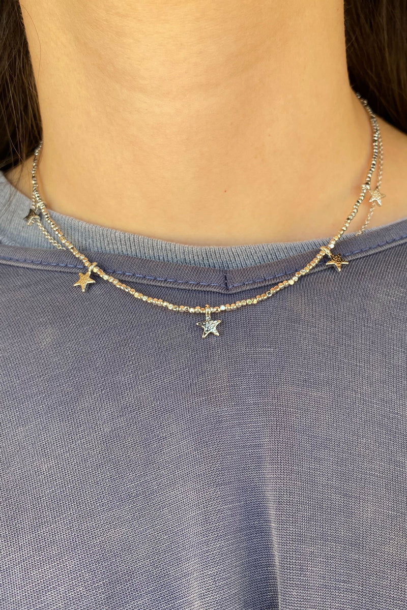 Star Girl Choker Necklace