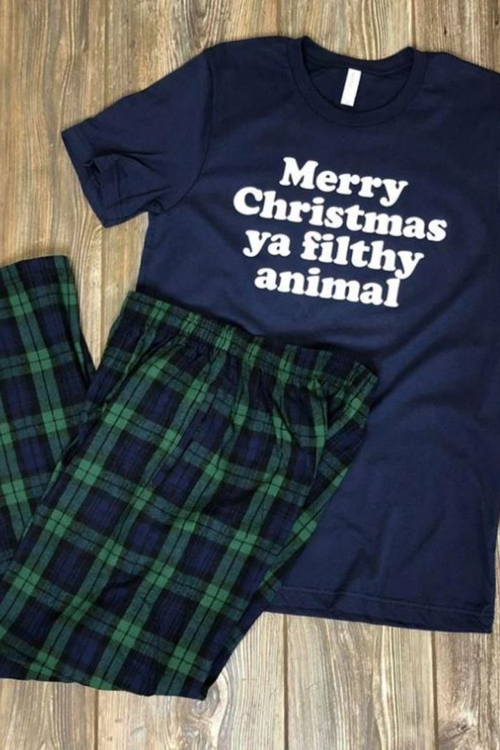Ya Filthy Animal Christmas Tee